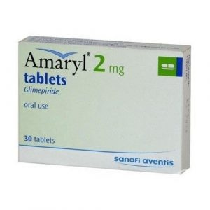 Amaryl 2 Mg