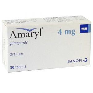 Amaryl 4 Mg