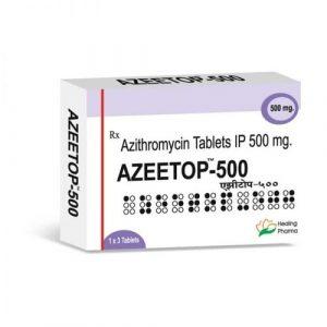 Azeetop 500 Mg