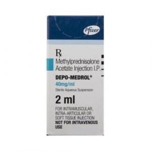 Depo-Medrol 40 Mg Injection (2 ml)