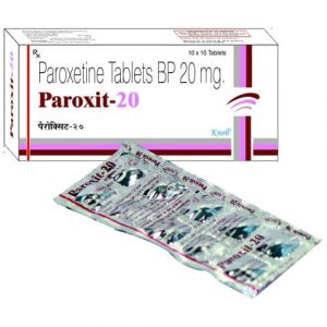 Paroxit 20 Mg Tablet