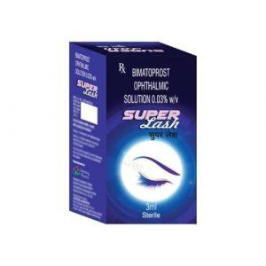 SuperLash 3ml Eye Drop (With 10 Brush)