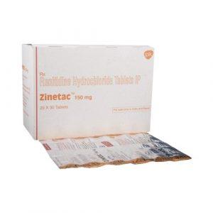 Zinetac 150 Mg